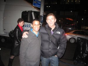 Neal with Michael Patrick King - CLICK FOR PICTURES!