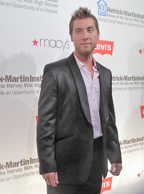 Singer Lance Bass - Click Picture for More!