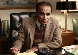 "Iqbal Theba as Principal Figgins in ""Glee"""