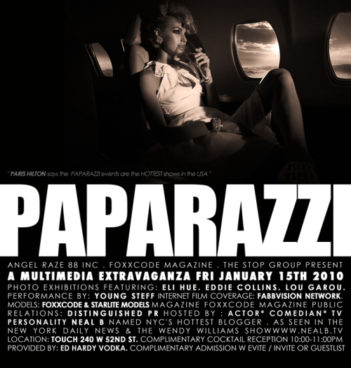 """Neal B Hosts """"Paparazzi"""" this Friday"""