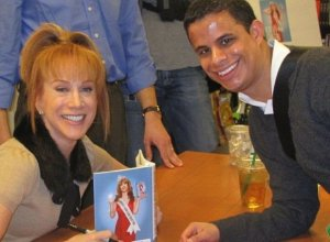 Neal B with Kathy Griffin - Click picture to view more!