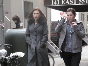 "Julianna Margulies: ""The Good Wife"" Filming - NYC"