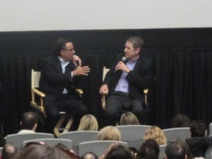 Actor Andy Garcia with Critic Pete Travers