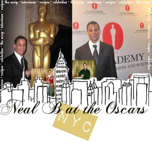 Neal B at the Academy's official New York Oscar Party!