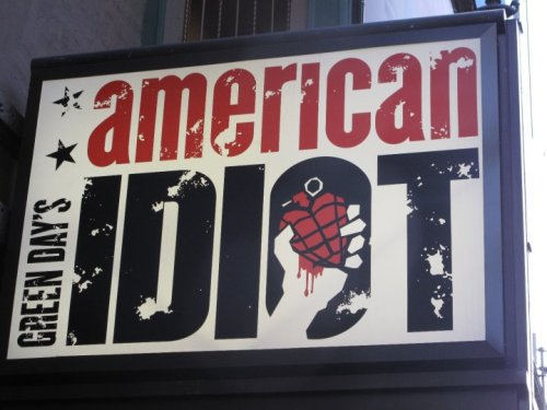 American Idiot - Opening Night on Broadway - April 20, 2010