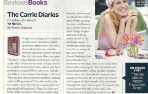 Candace Bushnell in Entertainment Weekly