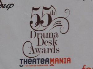 Neal B at the 55th Annual Drama Desk Awards