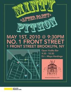 Minty Python After Party